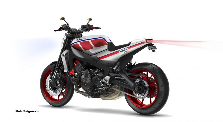 Cận cảnh Concept Yamaha RD350 lột xác trong một diện mạo cực đẹp