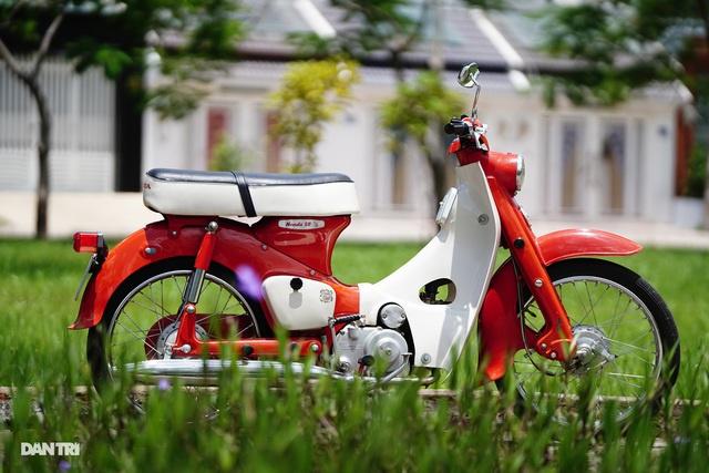 Ngắm chiếc Cub C102 hơn 60 tuổi còn mới nguyên ở Sài Gòn - Hình 1