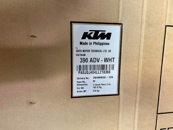 KTM, KTM 390 Adventure