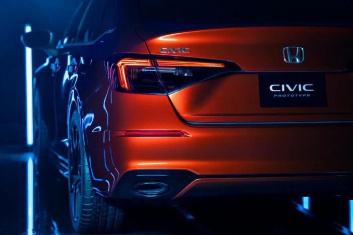 Honda Civic 2022, sedan cỡ c, Honda Civic thế hệ 11