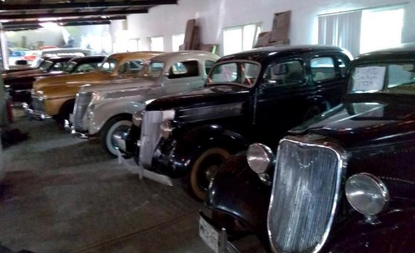 xe cổ, bộ sưu tập xe cổ, xe bị tịch thu