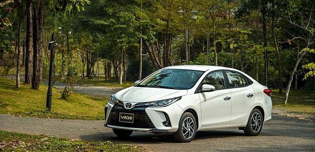 Toyota Vios 2021, giá xe Vios, bản thể thao Vios 2021, xe bán chạy nhất Việt Nam