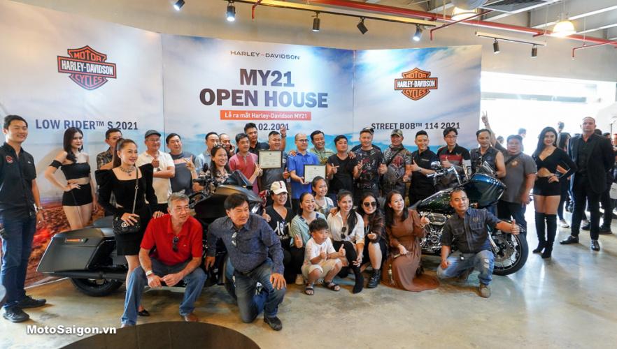 Harley-Davidson Việt Nam công bố giá bán 3 mẫu xe mới 2021 tại sự kiện Open House