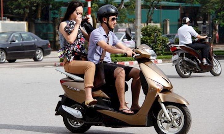 nón bảo hiểm, xe máy