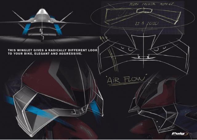 cánh gió Puig, Honda CBR1000RR-R